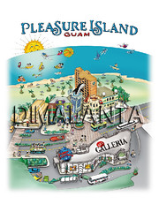 Ariel Dimalanta's Design for Pleasure Island Poster