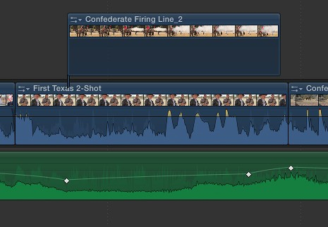 #FCPX Audio Ducking