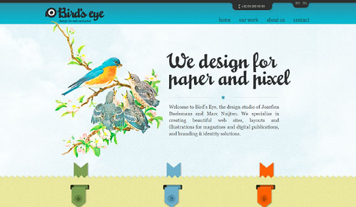 Bird's Eye Design / CSS Lounge