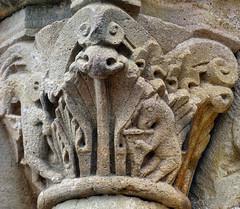 Fleury-la-Montagne (Martin M. Miles) Tags: france roman burgundy capital donkey 71 harp ram romanesque bourgogne violine romanisch burgund brionnais saneetloire fleurylamontagne animalsandmusic
