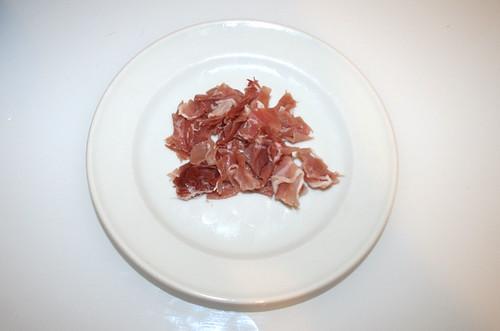 15 - Bacon zerkleinern