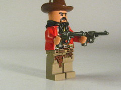 Lego Mexican Bandito (Epac1998) Tags: wild people west town lego painted indian s off western bandit conquistador bandito sawed brickarms