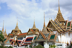 Grand Palace Hall (Chakri Mahaprasat) and others