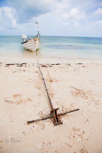 take a private boat ride around Barbuda