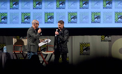 Andrew Niccol Comes Onstage For In Time Panel (uncle_shoggoth) Tags: justin amanda comics san sandiego time timberlake diego andrew convention comiccon damon geeky justintimberlake sdcc in intime seyfried andrewniccol niccol amandaseyfried damonlindelof lindelof