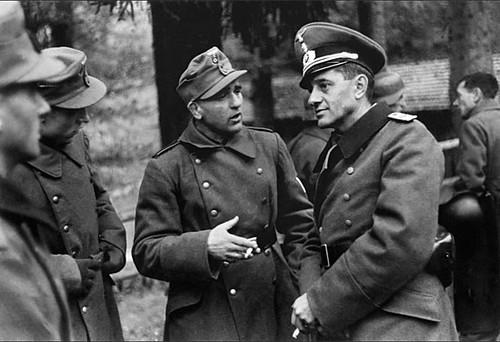 Soldados en algún lugar de Bielorrusia.