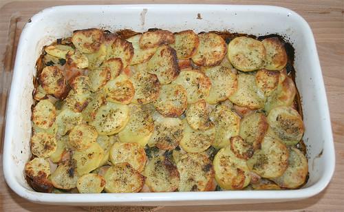 27 - Kartoffel-Wirsing-Gratin - Fertig gebacken