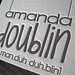 Amanda Doublin Letterpress Business Card