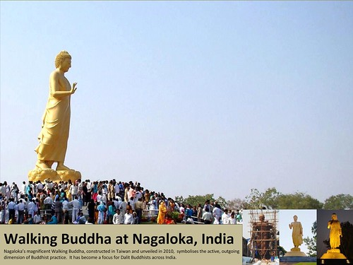 December -  Nagaloka's Walking Buddha by Triratna Photos