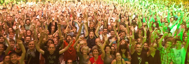 Moby crowd Biarritz