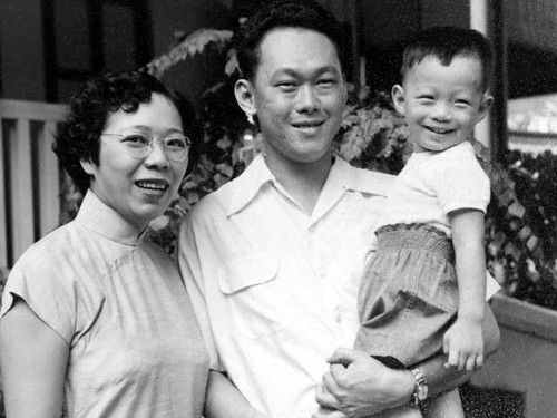 Kwa Geok Choo, Lee Kuan Yew and Lee Hsien Loong
