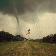 365/201 - The Storm (RachelMarieSmith) Tags: selfportrait storm canon photography flying floating levitation explore twister tornado explored canon60d rachelmariesmith