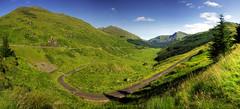 scotland landscape panorama
