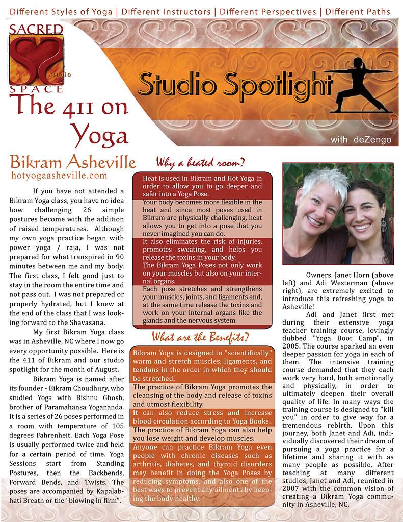 Studio Spotlight - Bikram Yoga Asheville, NC