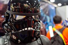 Star Wars Top Gun (espressoDOM) Tags: trooper starwars costume cosplay backinblack sdcc tiefighter theempire sandiegocomiccon tiefighterpilot sdcc2011 starwarstopgun