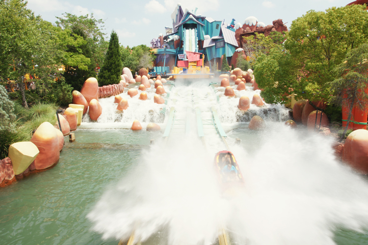 Dudley Do-Right's Ripsaw Falls @ Islands of Adventure | Orlando, Florida