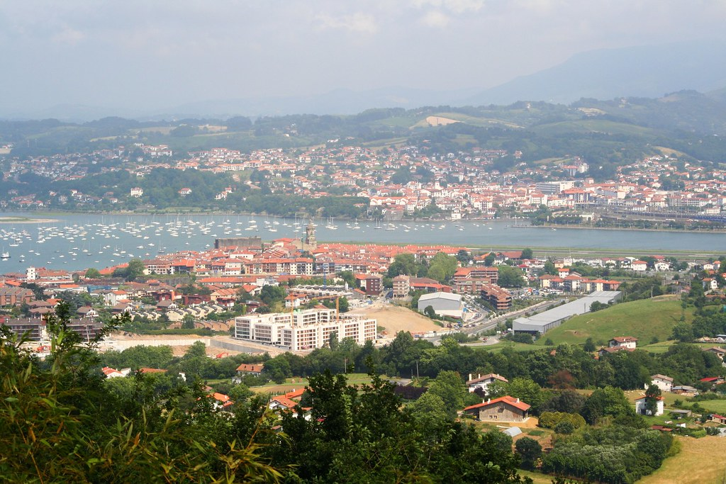 Vista de Hendaye
