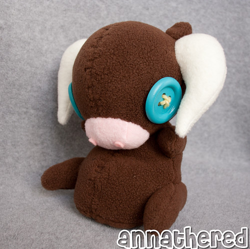 stuffed stuff: plush Pyth from Bastion