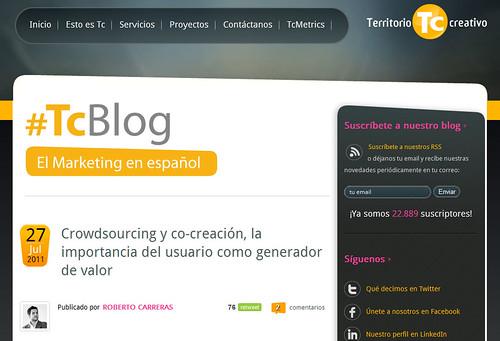 Blog de Territorio Creativo
