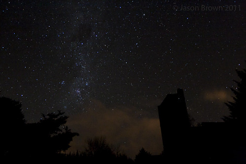 Milky Way over the cement works by Astronomr