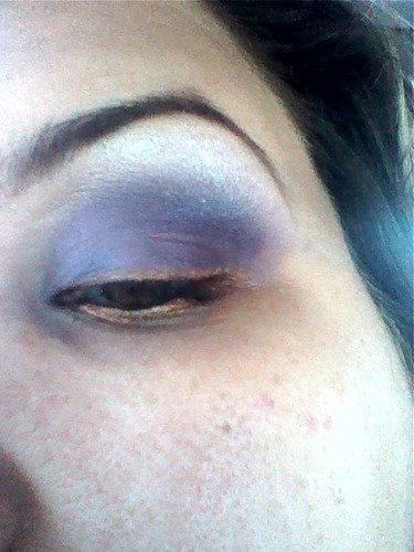 My eye, with makeup