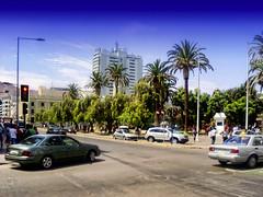 Antofagasta - Plaza Colón (Victorddt) Tags: chile photoshop sonycybershot antofagasta