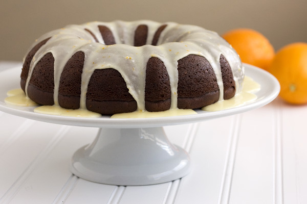Orange-Glazed Chocolate Bundt Cake