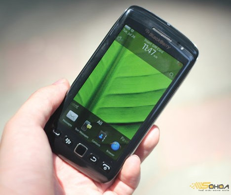blackberry touch monza 9860