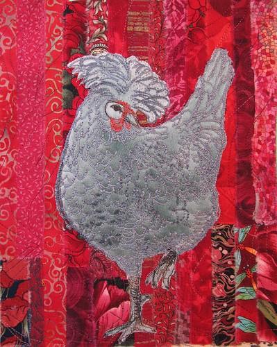 Bob's blue Polish hen