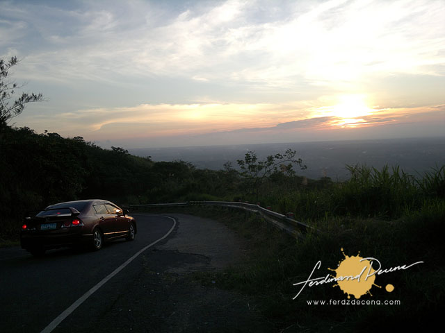 Tagaytay Sunset Drive
