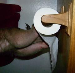 Tasty toilet paper