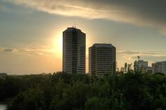 HDR - Saskatoon Sunset IMG8443-8447 (gm_pentaxfan) Tags: canada cityscape pentax saskatoon saskatchewan photomatix k20d pentaxk20d gmpentaxfan