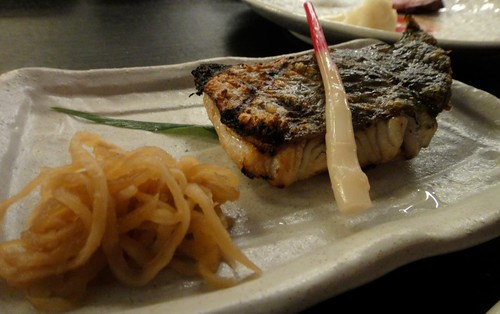 Barramundi Fillet with Hajikami GingerIzakaya Den- Melbourne