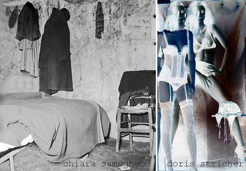 Artishok / ArtiChoc 1- la bocca del lupo  - colloborativ Art Chiara Samugheo & Doris Stricher by doris stricher