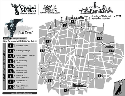 Ruta Cicloton Ciudad de Mexico 32K