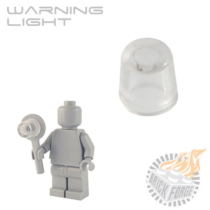Warning Light - Trans Clear