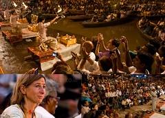Ganga Arati, Varanasi (A y A n) Tags: india west up collage canon lens rebel wide picasa east tokina 200 u varanasi l p ritual 24 12 foreign hindu 70 kashi kolkata bengal clap calcutta ganga ganges pradesh benares benaras ayan uttar foreigner xti hiduism khasnabis ayancoin