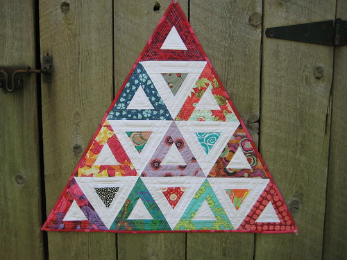 Killer Triangles (back) by Lynne