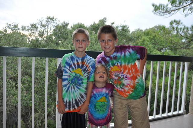 Salty Dog Tie Dye Shirts