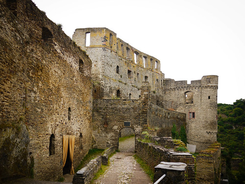 A view of Burg Rheinfels