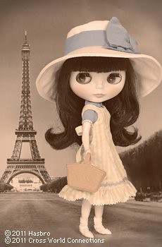 I'm waiting for her. ^^ And I give her names Clementine.