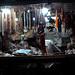 Vendor selling curios