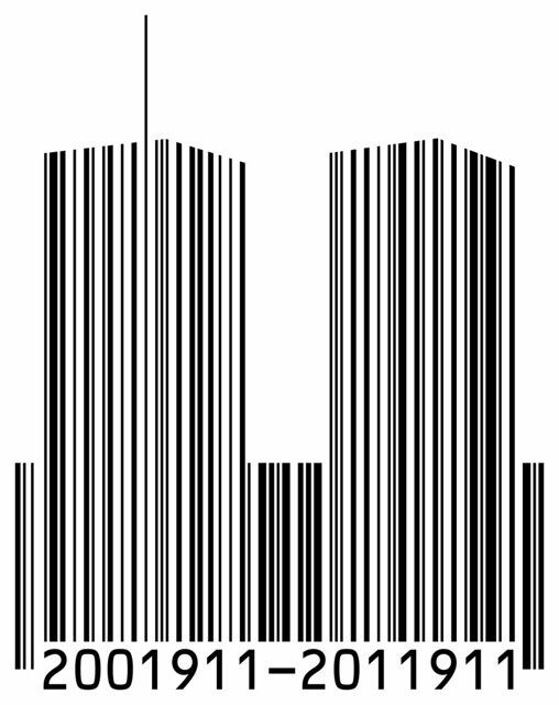 9/11 Anniversary Barcode