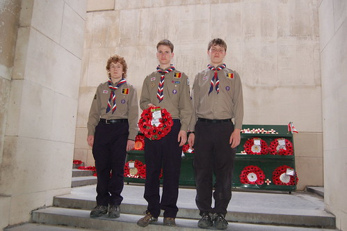 1st Hermitage Scouts at the Menin Gate
