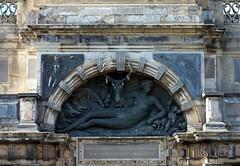 Diana of Poitiers (Sokleine) Tags: sculpture france castle nude centre eu relief diana 28 renaissance 16thcentury benvenutocellini dianedepoitiers anet eureetloir dianechasseresse huntingdiana
