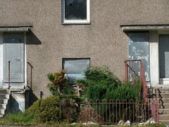 Kilmun Street Maryhill (Michelle O'Connell Photography) Tags: abandoned glasgow empty sunny vacant boardedup derelict westend tenement slums maryhill oldnew glenavonroad kilmunstreet 5apartment