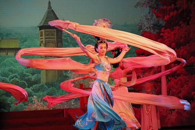 Xian dance show