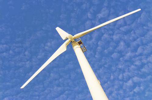 The big wind turbine near Naiharn Beach