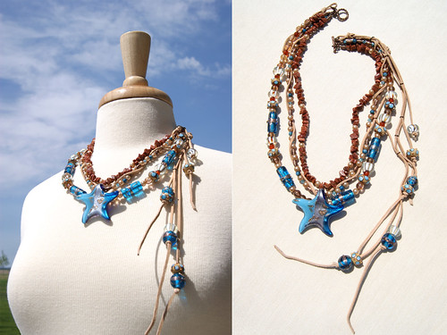 Boho Beach Star- Necklace