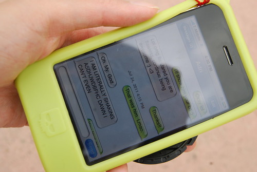SDCC 2011, THE TEXT MESSAGE